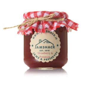 Jamshack Strawberry and Prosecco Jam